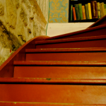 Shakespeare & Co stairs