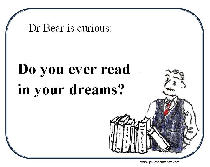 Reading in your dreams